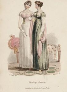 Evening Dresses, c. 1802