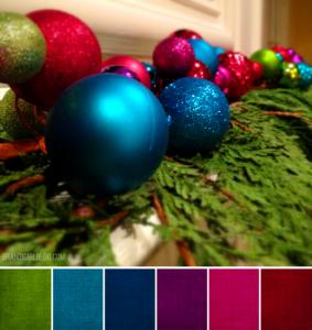 Christmas color Palette