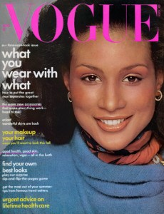 Beverly Johnson, Vogue 1974