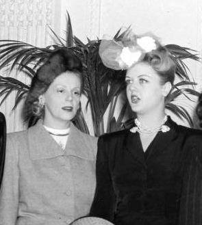 Eleanor with Angela Lansbury