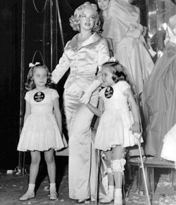 Marilyn Monroe, March of Dimes