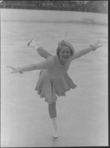 Sonja Henie, 1936