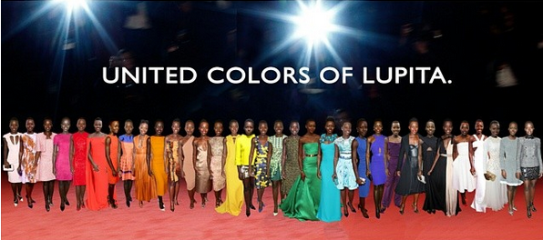 The United Colors of Lupita
