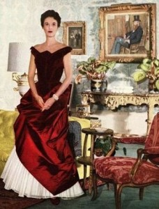 Babe Paley in Charles James, 1950