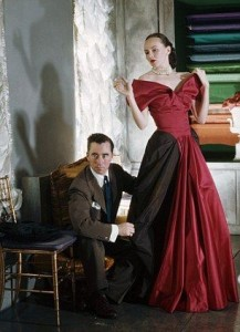 Charles James with Austine Hearst