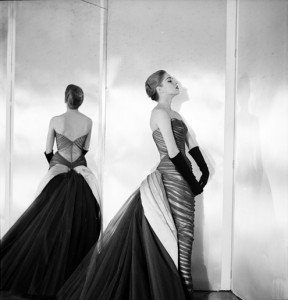 Nancy James in Charles James, 1955