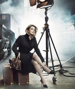 Catherine Deneuve for Louis Vuitton
