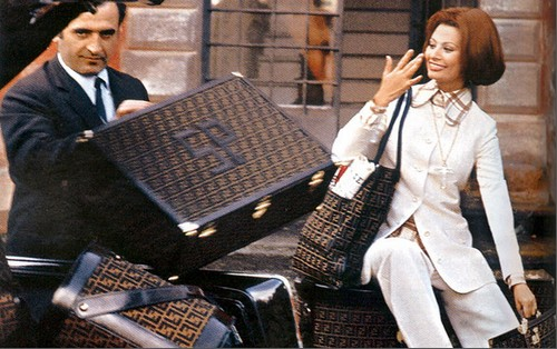 Sophia Loren for Fendi
