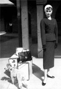Audrey Hepburn in Sabringa