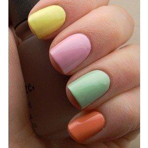 Pastel Fingernails