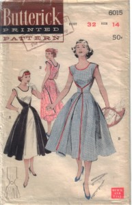 "1952 ""Walk Away"" dress - the most popular Butterick Pattern of all time"
