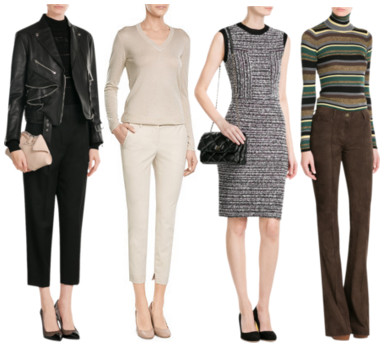 Women's business fashion attire