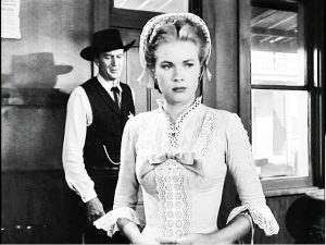 Grace Kelly and Gary Cooper in High Noon (1951)