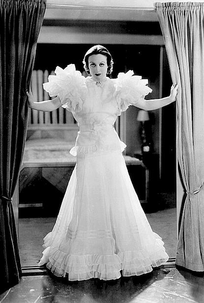 Joan Crawford as Letty Lynton (1932) Dress by Adrian