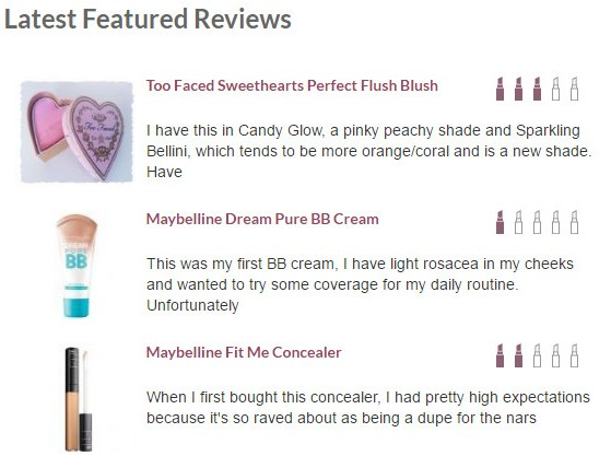 Makeup Alley Product Reviews
