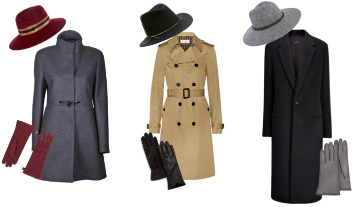 Formal coats and hats
