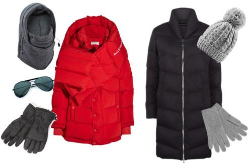 Informal coats and hats