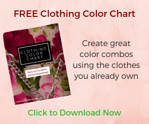 FREE Clothing Color Chart