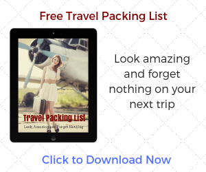 FREE Travel Packing List