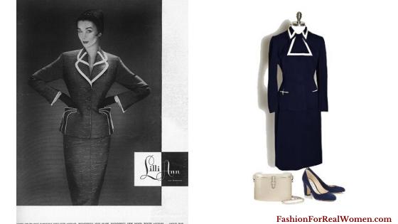 Vintage Outfits Blue Suit