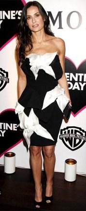 Demi Moore at Movie Premiere