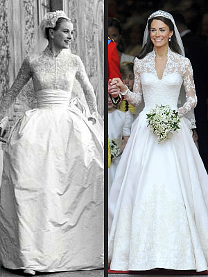 Grace Kelly vs Kate Middleton