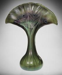 Tiffany Ceramic Vase