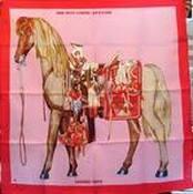 Hermès horse scarf