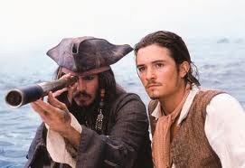 Jack Sparrow and Will Turner, Pirates of the Caribbean