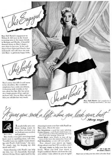 Pond's Ad 1951