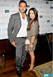 Mauricio Urmansky with Kyle Richards