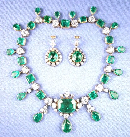 Catherine the Great Emerald Parure