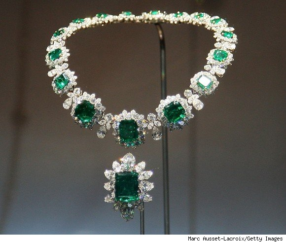 The necklace from the Grand Duchess Vladmir Suite