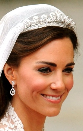 Kate Middleton Wedding earrings