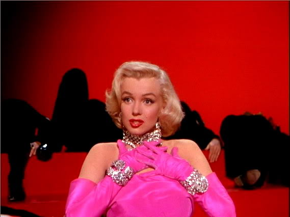 "Marilyn Monroe singing ""Diamonds are a Girl's Best Friend"""