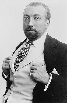 Paul Poiret, c. 1913