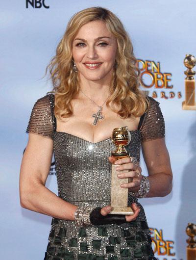 Madonna Golden Globes