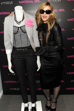 Madonna's Material Girl Clothing Line