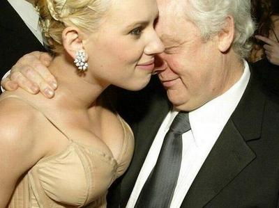Scarlett Johansson's leering admirer