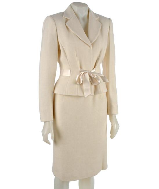 Winter White Suit