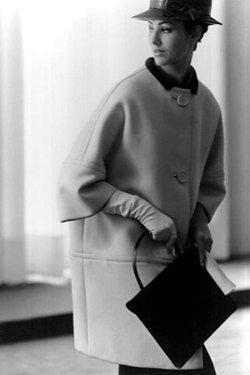 """Balenciaga """"Cocoon"""" Coat, 1957"""