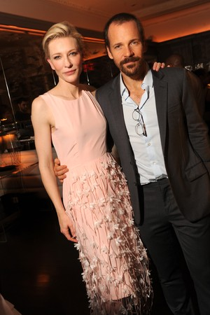 Cate Blanchette with Blue Jasmine co-star