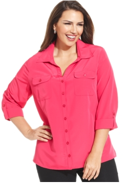 Button down shirt with no shape