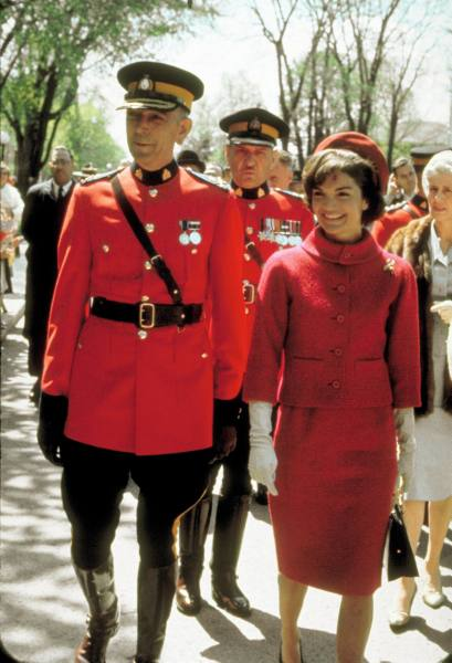Mrs. Kennedy in Canada