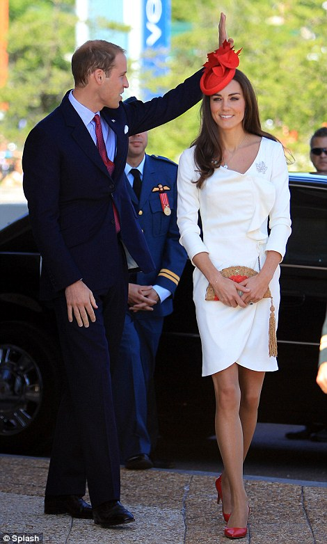 The Duchess of Cambridge in Canada