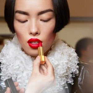 Red Lips at Chanel