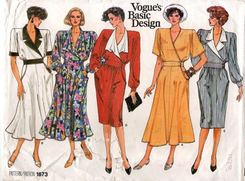 Vogue Patterns, 1986