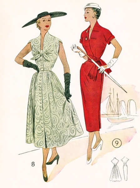 Lutterloh Sewing Patterns, 1955