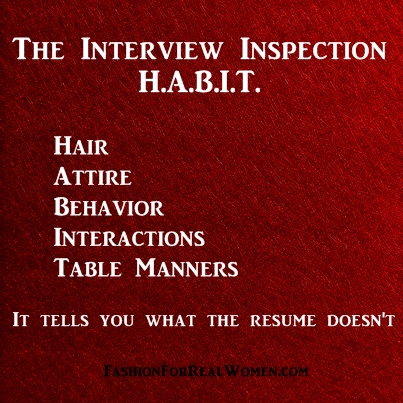 The Interview Inspection Habit