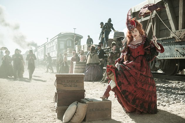 Helena Bonham Carter in The Lone Ranger